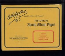 1988 WhiteAce Canada Historical Stamp Album Supplement Pages Part 3