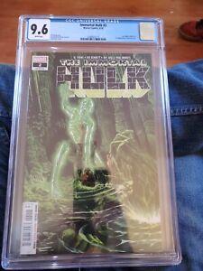 The Immortal Hulk #2 Al Ewing CGC 9.6 Grade Marvel Comics