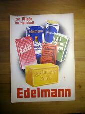 Plakat - Edelmann - zur Pflege im Haushalt - um 1950