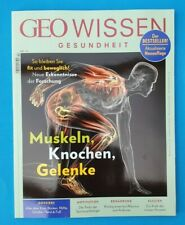 Geo Wissen Gesundheit Nr.14 Muskeln,Knochen,Gelenke  ungelesen 1A