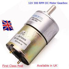 12 V DC-couple élevé moteur électrique 300 tr/min avec GBOX-Arduino-Raspberry Pi
