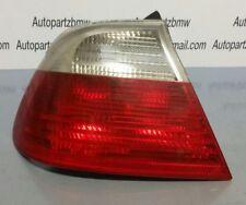 2001 BMW E46 3 Series Convertible Passenger Ns Rear Light oem 8384843 #ob3a