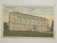 1919 Gloversville, NY postcard High School