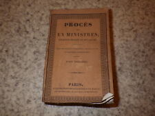 1830.Procès des ex-ministres.Révolution de 1830.T1.