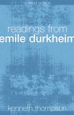 Readings from Emile Durkheim by Émile Durkheim (2004, Paperback, Revised)