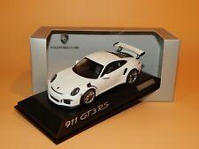Porsche 911 (991) GT3 RS Weiß  WAP 0200110E Dealermodell Minichamps 1/43 OVP