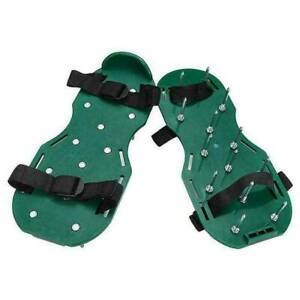 Lawn Aerator Spiker Shoes Garden Durable Spike Exercise Sandals Heavy Duty