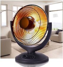 Electric Portable Parabolic Oscillating Infrared Radiant Room Space Dish Heater