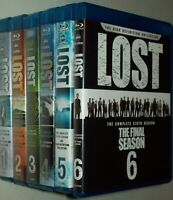 LOST The Complete ABC TV Series Blu-Ray Season Sets 1-6 Like New FREE SHIPPING