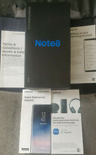 Samsung Galaxy Note 8 Box Only + Screen Glass Protector + Carry Case !!!
