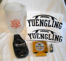 YUENGLING Beer 6 Pc Lot Pitcher Towel Koozie T-Shirt Americas Oldest Brewery