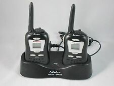 COBRA WALKIE TALKIE FRS-110 MICRO TALK & FRS-85 CLEAR CALL FA-CT DUAL CHARGER