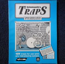 Grimtooth'S trappole LB Advanced Dungeons & Dragons Modulo Avventura Dungeons and Dragons GIOCO 8501