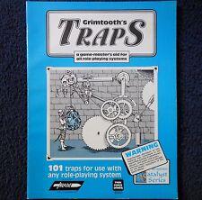 Grimtooth's trampas lb Advanced Dungeons & Dragons Aventura módulo D&D Juego 8501