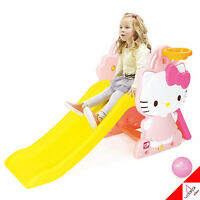 Hello Kitty Sweety Climb & Slide Kids-Basketball Play Indoor/Outdoor [YAYA Toy]
