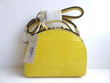 Radley Orchard Road Yellow Leather Crossbody Bag BNWT RRP £129 & Dust Bag