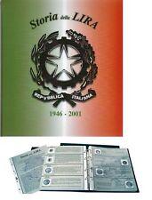 LIRA TIPOLOGICA ALBUM PER LA RACCOLTA DELLE MONETE DELLA LIRA ITALIANA 1946/2001