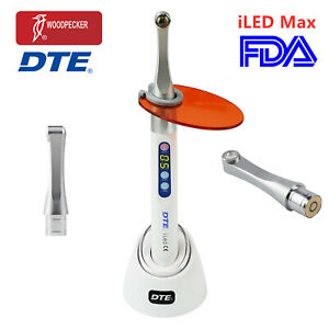 Metal Head Dental Led Curing Light 1 Second Cure Lamp 2600mw/c㎡ Broad Spectrum