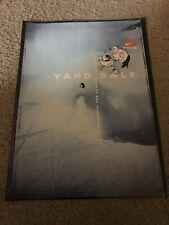 "Vintage 1997 NIKE ACG ""YARD SALE"" Poster Print Ad 1990s SNOWBOARDING RARE"