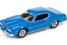 1/64 JOHNNY LIGHTNING CLASSIC GOLD 3C 1974 Ford Gran Torino (Light Grabbar)