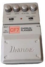Gitarreneffektgerät Chorus Flanger CF7 Ibanez, gebraucht, guter Zustand