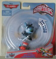 DISNEY PLANES MICRO DRIFTERS 3 PACK BRAVO, HECTOR VECTOR, SUPERCHARGED, DUSTY CR