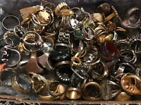 💥RINGS LOT ONLY💥Resell Wear All GOOD Vintage Now All Styles 5pc 💍 Sizes 5-9