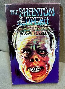 Vintage Phantom of the Opera 1974 American Publishing Puzzle Glow in the Dark
