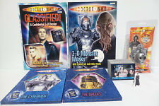 DOCTOR WHO : KEY RING, STANDEE, BOOKS, TRADING CARDS BUNDLE (BP)
