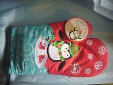 OVEN MITT WITH SUGAR COOKIE MIX PENGUIN