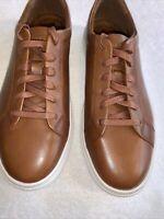 New Republic Men's Kurt Brown Tan Leather Sneaker Men's EU 43 US 10
