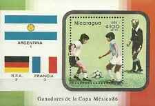 Timbre Sports Football Nicaragua BF178 ** lot 16771