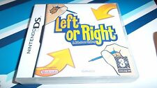 NINTENDO DS GAME LEFT OR RIGHT (TESTED & WORKING)