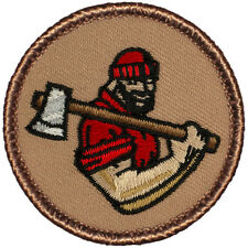 Manly Boy Scout Patrol Patch! - #407 The Lumberjack Patrol!