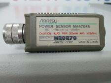 Anritsu MA4704A Power Sensor 50Mhz-26.5Ghz -70dB -20dB attacco SMA