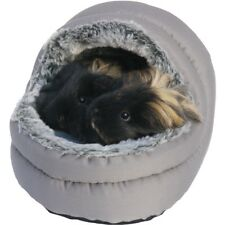 Rosewood Snuggles Two-Way Hooded Bed - Small Pet Guinea Pig, Ferret, Rabbit, Rat