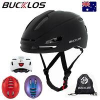Mountain Road Bike Riding Helmet Hat Men Women Helmet Equipment LED Rear Light