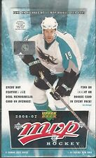 2006-07 Upper Deck MVP Hockey Hobby Box -An Insert Or Rookie In Every Pack