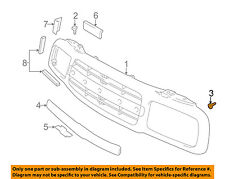 Chevrolet GM OEM 99-04 Tracker-Grille Screw 30008325