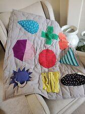 Land of Nod Activity Baby Blanket Quilt