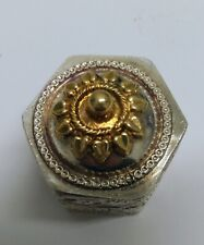 Vintage Silver Trinket/Pill Box