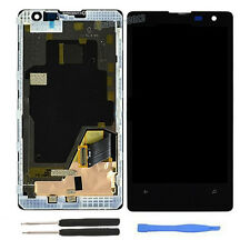 For Nokia Lumia 1020 OEM LCD Display Touch Screen Digitizer Assembly with Frame