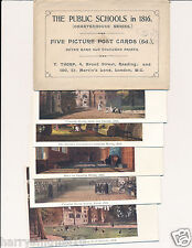 Collection postcards Thomas Thorp Public schools 1816 set of 5 cards 6