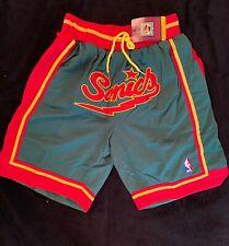 Seattle Super Sonics Just Don Basketball Shorts Stitched