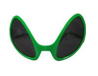 Alien Green Dark Lens Glasses Novelty Costume Accessory