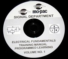 Missouri Pacific Signal Department Electrcal Fundamental Cousre PDF Pages on DVD