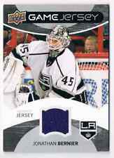 2012-13 GAME JERSEY JONATHAN BERNIER JERSEY 1 COLOR LOS ANGELES KINGS #GJ-JB