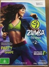 Zumba Fitness 2 Wii box set
