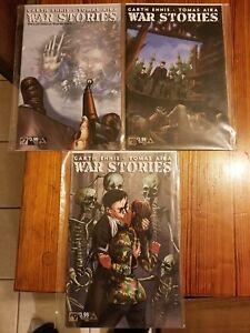 War Stories #7-9 The Last German Winter 8, 9 Wraparounds VF/NM Avatar Press 2015