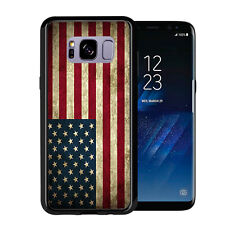 USA American Flag Grunge For Samsung Galaxy S8 Plus + 2017 Case Cover by Atomic